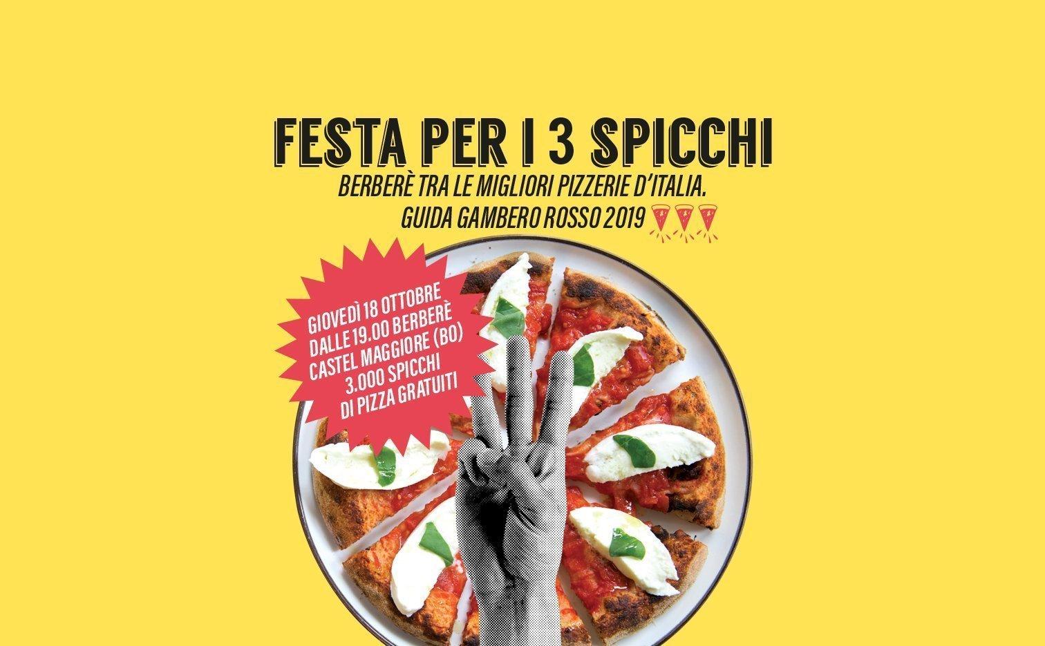 Festa 3 Spicchi - Gambero Rosso - Berberè Castel Maggiore
