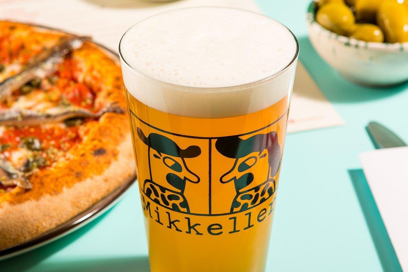 Birra Mikkeller e pizza Berberè